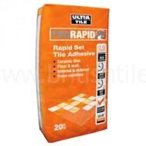Prorapid Pb Rapid Set Grey Single Part Floor Adhesive 20