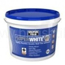 WR Flexible white ready mixed floor adhesive 16 kg by Instarmac