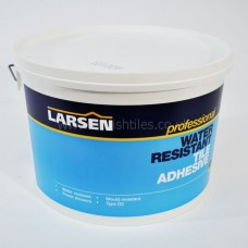 Shower proof off white ready mixed wall adhesive 16 kg by Larsen