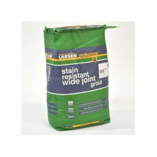 Flexible Wide Joint anthracite bag wall & floor grout 10 kg by Larsen