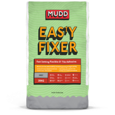 Mudd Easy S1 Fixer grey water resistant flexible tile adhesive 20kg - 37408 - C2FT