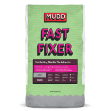 Mudd Fast Fixer grey water resistant flexible tile adhesive 20kg - 37111 - C2FT