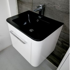 Bauhaus Celeste 60 Unit with Plus Ton Basin White Gloss CL6000DWG