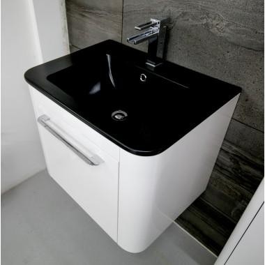 Bauhaus Celeste 60 Unit with Plus Ton Basin White Gloss CL6000DWG