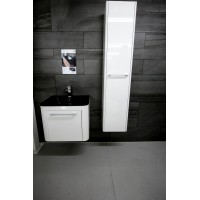 Bauhaus Celeste White Gloss Complete Suite Not including tap