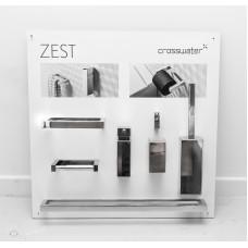 Crosswater Zest Accessory Set Chrome