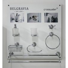 Crosswater Belgravia Accessory Set Chrome