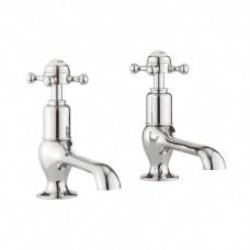 Belgravia Crosshead long nose basin taps by Crosswater Bathrooms