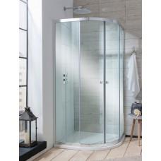 Edge Quadrant Double Door Shower Enclosure by Crosswater Bathrooms