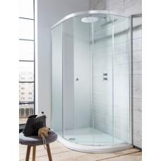 Edge Quadrant Single Door Shower Enclosure by Crosswater Bathrooms