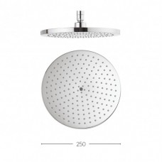 Central 250mm showerhead by Crosswater Bathrooms