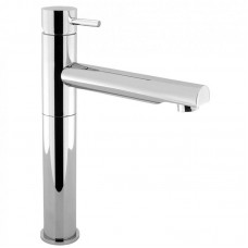 Crosswater Kai Lever Monobloc Swivel Spout Tall Basin Mixer Tap