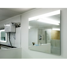 Roca Prisma Basic 900 x 800mm Mirror With Upper LED Lighting