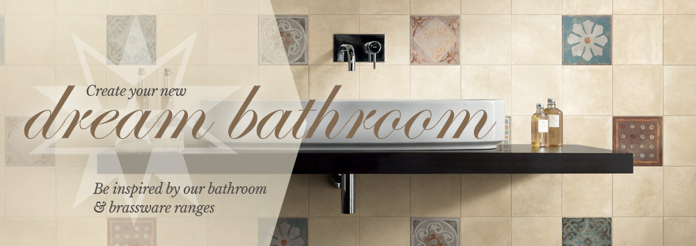 From stone to traditional collections to use in bathrooms