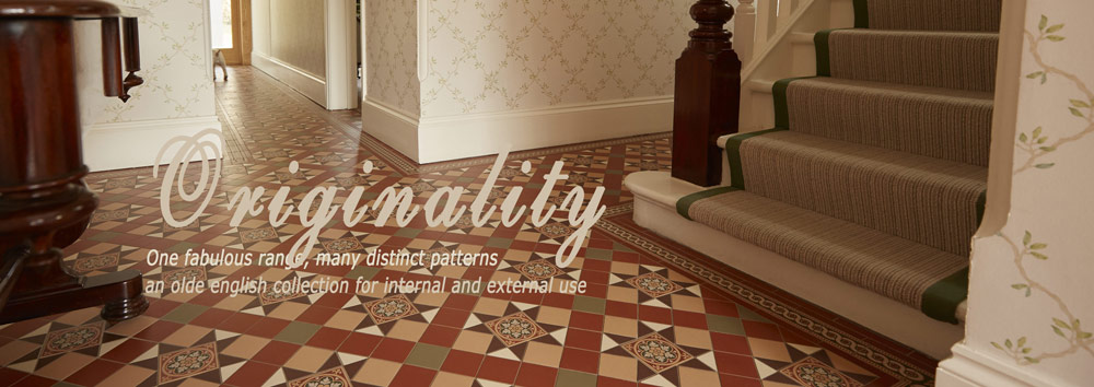 Welcome to our collection of victorian geometric floor tiles