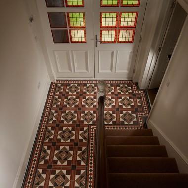 Victorian floors paths, hallways, bathrooms, kitchens, gardens
