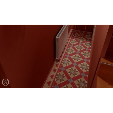 Blenheim Victorian Floor Design Room Setting