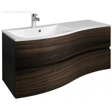 Bauhaus Svelte Eucalyptus 1200mm Vanity Unit & Mineral Cast Basin  EX DISPLAY OFFER
