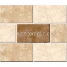 BCT01560 Rapolano Faux Mosaic Gloss 248mm x 498mm