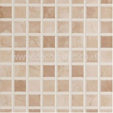 BCT12696 Elgin Marbles Cappuccino Beige Mosaic 248mm x 398mm