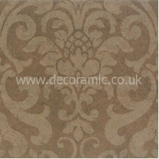 BCT38702 Englishman's Home Damask Truffle Part A Wall 248mm x 498mm