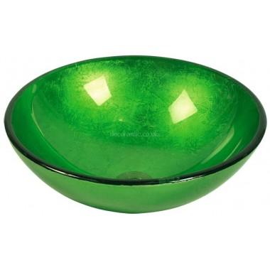 Basin Bowl Green 186882 42x42x15 cm by Dekostock