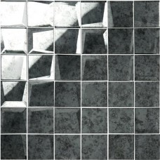 Original Style 50mm Facet Mosaic Mirror Glass tile GW-ANTGRMMOS 310x310mm Glassworks