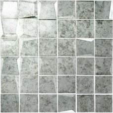 Original Style 50mm Facet Mosaic Mirror Glass tile GW-ANTWHMMOS 310x310mm Glassworks