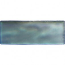 Original Style Blue Frost Brick Frosted Glass tile GW-RBL2008F 200x75mm Glassworks