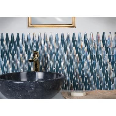 Original Style Glass Mosaic Solitaire 290 x 206 x 5-10mm  GW-SLTDLMOS mosaic tile