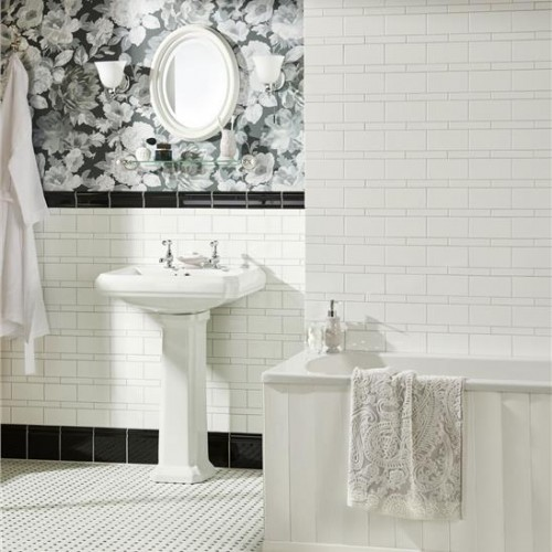 classic bathroom floor tile original style cs octdot classic octagon and dot 292 x 17751