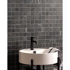 Alto Grey Marble Patterned Mosaic Matt Honed Stone - EW-ALTGMOS - 305x305 Original Style