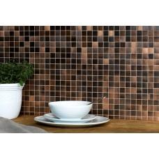Aurelio Copper Mosaic EW-AURMOS metal mosaic tile 305x305x7mm Original Style
