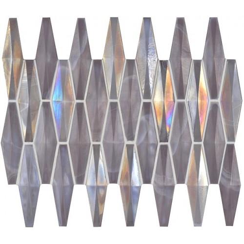 Paragon Glass Iridescent Mosaic Gw Pardlmos Glass Mosaic Tile 290x206x 5 10 Mm Original Style