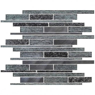 Tribune Linear Mixed Material Mosaic GW-TRIMOS mixed mosaic tile 310x298x9mm Original Style