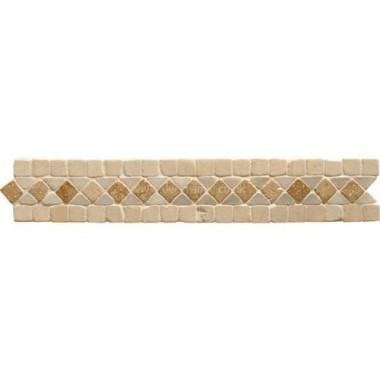 Original Style Mosaics Athenian Braid Travertine 300x50mm EW-ATBRAIDT mosaic tile