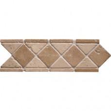 Original Style Mosaics Athenian Diamond Noce 300x100mm EW-ATHDIAN mosaic tile