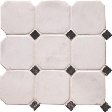 Original Style Mosaics White Octagon 10 310x310mm EW-VMOCTW10 mosaic tile