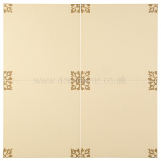 Allegro Regency Regency Bath tile 8709 298x298x9 mm Odyssey Original Style