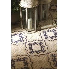 Odyssey Vogue Blue Dark Blue, White 8705 Ceramic tile Matt 298x298mm Original Style