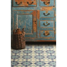 Odyssey Bolero Blue Light Blue, Dark Blue, Denim 8711 Ceramic tile Matt 298x298mm Original Style