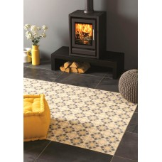 Odyssey Bolero Grey Light Grey, Dark Grey, Summer Yellow 8712 Ceramic tile Matt 298x298mm Original Style