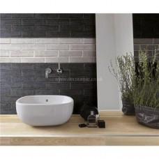Original Style Tileworks Mattoncino Nero 25x6cm CS1149-2506 decorative tile