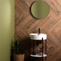 Original Style Naturalia Brown wood effect Tileworks tile CS2367-6015 600x150mm
