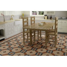 Westminster with Wordsworth victorian floor tile design