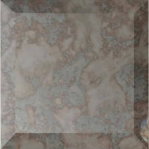 Original style antique mirror clear glass tile gw ant1010b 100x100mm glassworks