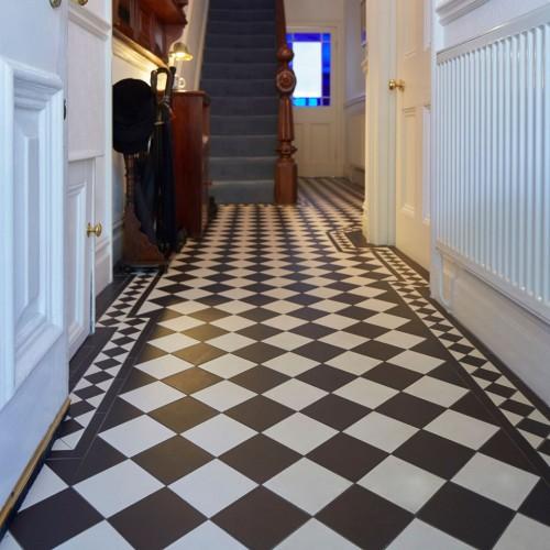 Victorian Kitchen Floor: Oxford Original Style Victorian Floor Tiles