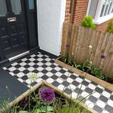 Pomeroy victorian floor tile design