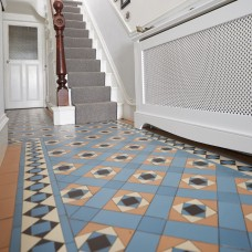 Conway with Browning victorian floor tile design