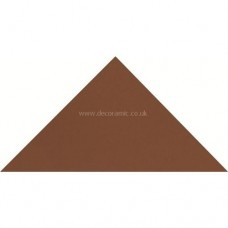 "Original Style 6116V red triangle 149 x 106 x 106 | 6 x 4 1/8 x 4 1/8"" plain tile"